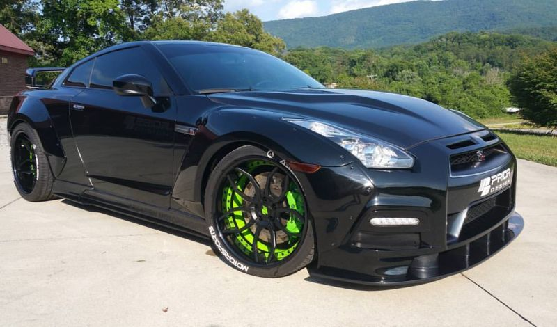 PD750 Widebody-Kit  PD3 Alu's Nissan GT-R Tuning (13)