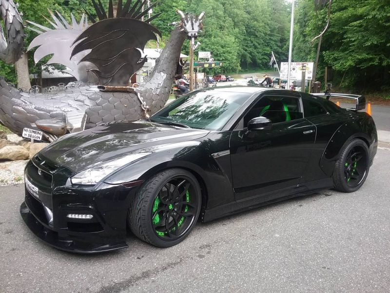 PD750 Widebody-Kit  PD3 Alu's Nissan GT-R Tuning (15)