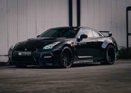 PD750 Widebody Kit PD3 Alu's Nissan GT R Tuning 16 190x135 Video & Foto: PD750 Widebody Kit & PD3 Alu's am Nissan GT R