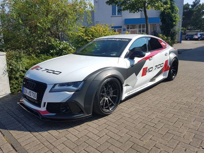 PDR700 Widebody Audi A7 S7 Tuning 2016 MD 1 Fotostory: PDR700 Widebody Audi A7 von M&D