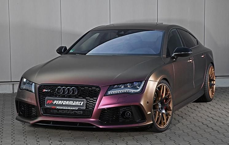750ps Im Auff 228 Lligen Pp Performance Audi A7 Rs7 Sportback