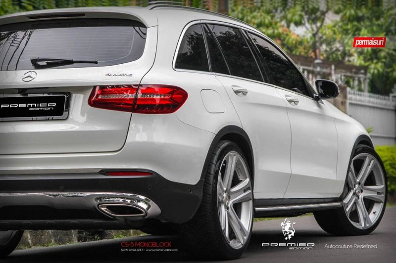 PREMIER EDITION CS 5 Tuning Mercedes GLC 1 Bullig   PREMIER EDITION CS 5 Alu's am neuen Mercedes GLC
