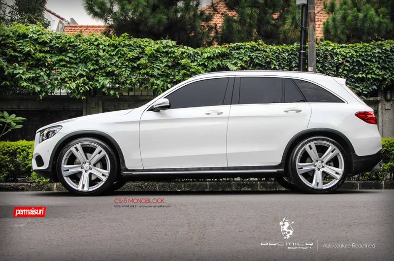 PREMIER EDITION CS 5 Tuning Mercedes GLC 3 Bullig   PREMIER EDITION CS 5 Alu's am neuen Mercedes GLC