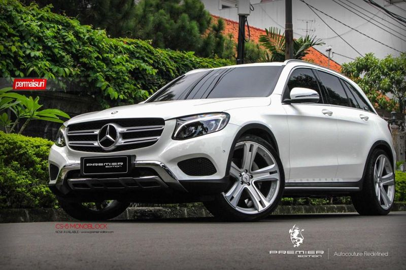 PREMIER EDITION CS 5 Tuning Mercedes GLC 4 Bullig   PREMIER EDITION CS 5 Alu's am neuen Mercedes GLC