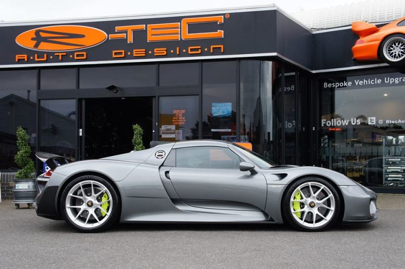 porsche spyder 918 hre jantlar p101 ayarlama rtec otomobil. Black Bedroom Furniture Sets. Home Design Ideas