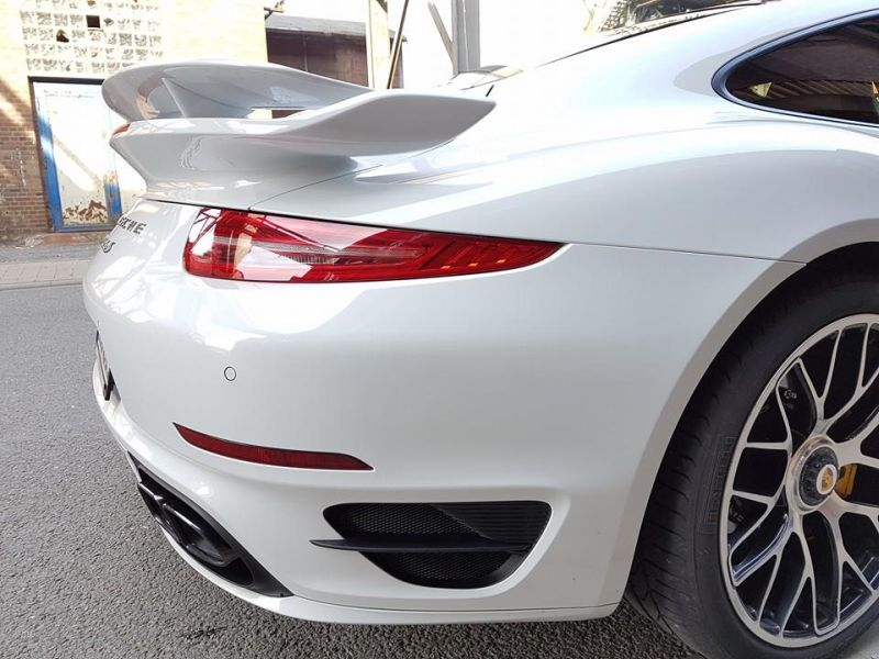 Porsche 991 911 Turbo Edo Competition Tuning 7 625PS & 860NM Drehmoment im Porsche Turbo von Edo Competition
