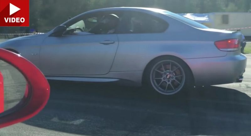 Porsche 991 GT3 RS vs. 620PS BMW 335i 1 Video: Dragrace   Porsche 991 GT3 RS vs. 620PS BMW 335i