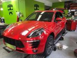 Print Tech Porsche Macan Vollfolierung Racing Red Uni Tuning 7 155x116 print tech porsche macan vollfolierung racing red uni tuning 7