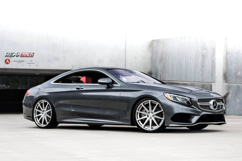 RENNtech Mercedes S550 Coupe C217 Tuning 2 548PS/954NM & 21 Zöller am RENNtech Mercedes S550 Coupe