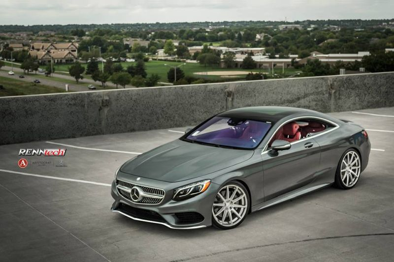 RENNtech Mercedes S550 Coupe C217 Tuning 4 548PS/954NM & 21 Zöller am RENNtech Mercedes S550 Coupe