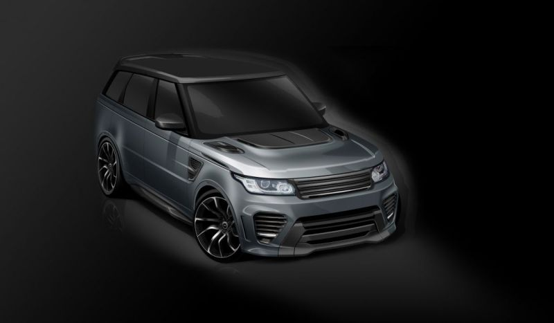 Range Rover Supersport SVR Tuning Overfinch 2016 (1)