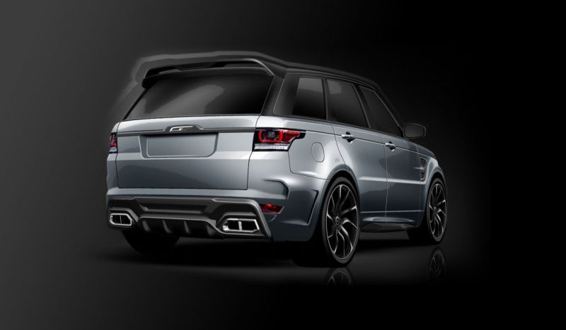 Range Rover Supersport SVR Tuning Overfinch 2016 2 Full House   Komplettprogramm am Range Rover Sport SVR von Overfinch