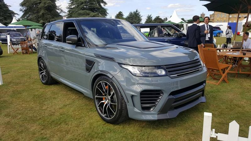 Range Rover Supersport SVR Tuning Overfinch 2016 3 Full House   Komplettprogramm am Range Rover Sport SVR von Overfinch