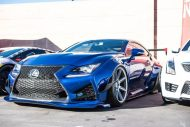 Rocket Bunny Widebody Kit Lexus RC F Zito Wheels Tuning 17 190x127 Rocket Bunny Widebody Kit am Lexus RC F auf Zito Wheels