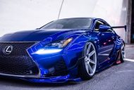 Rocket Bunny Widebody Kit Lexus RC F Zito Wheels Tuning 5 190x127 Rocket Bunny Widebody Kit am Lexus RC F auf Zito Wheels
