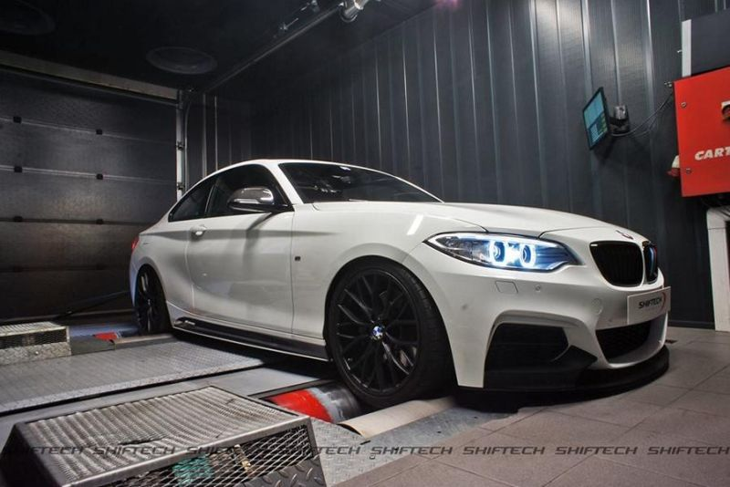 Shiftech BMW M235i F22 Chiprtuning 1 Deutlich mehr Power   Shiftech BMW M235i mit 401PS & 604NM