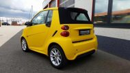 Smart Cabrio Matte Bright Yellow Folienwerk NRW 4 190x107 Fotostory: Smart Cabrio in Matte Bright Yellow by Folienwerk NRW