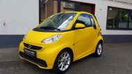 Smart Cabrio Matte Bright Yellow Folienwerk NRW 6 190x107 Fotostory: Smart Cabrio in Matte Bright Yellow by Folienwerk NRW