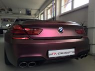 Sparkling Berry matt BMW M6 F13 Cabrio Folierung Tuning 2M Designs 6 190x143 Sparkling Berry matt am BMW M6 F13 Cabrio von 2M Designs