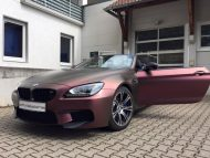 Sparkling Berry matt BMW M6 F13 Cabrio Folierung Tuning 2M Designs 9 190x143 Sparkling Berry matt am BMW M6 F13 Cabrio von 2M Designs