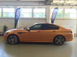 Sunrise Orange BMW M5 F10 Folierung 5 155x116 sunrise orange bmw m5 f10 folierung 5