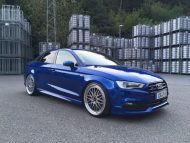 TVW Audi A3 8V Limousine 20 Zoll BBS LM Tuning 1 190x143 Fotostory: TVW Audi A3 8V Limousine auf 20 Zoll BBS LM Alu's