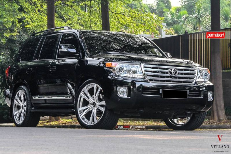 Toyota Land Cruiser 24 Zoll Vellano Forged Wheels VM45 Tuning 9 Toyota Land Cruiser auf 24 Zoll Vellano Forged Wheels VM45 Alu's