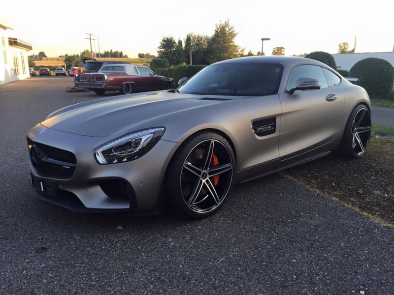 Tuning Folierung Mercedes AMG GT S Edition One 1 Car Wrapping Kuhnert   Mercedes AMG GT S Edition One