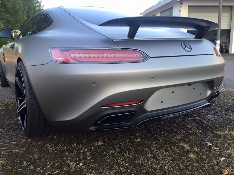 Tuning Folierung Mercedes AMG GT S Edition One 4 Car Wrapping Kuhnert   Mercedes AMG GT S Edition One