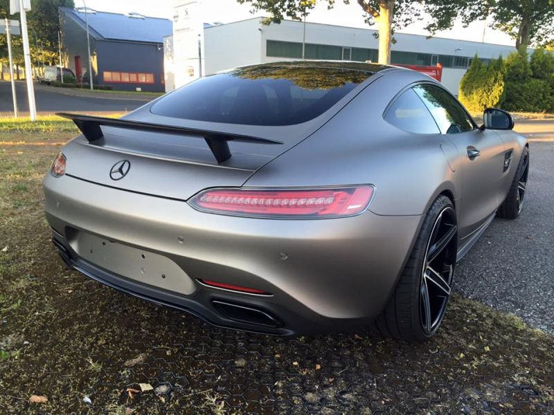 Tuning Folierung Mercedes AMG GT S Edition One (7)