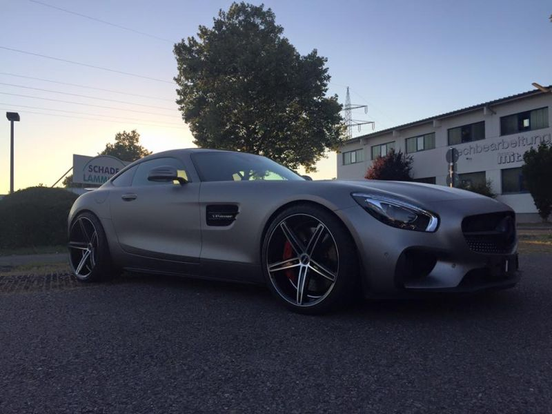 Tuning Folierung Mercedes AMG GT S Edition One (9)