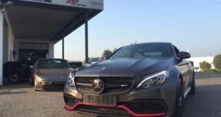Tuning Mercedes AMG C63 S Coupé Satin Pearl Nero 2 1 e1473931926778 310x165 Dezentes Kleid   Mercedes AMG C63 S Coupé in Satin Pearl Nero