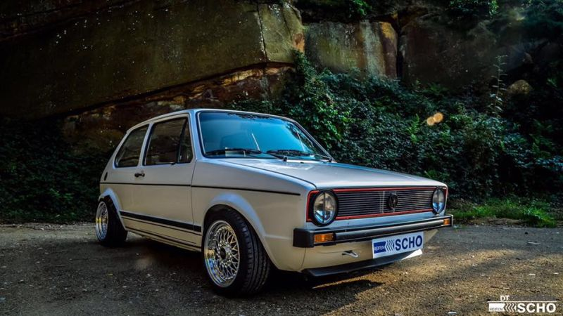 Tuning VW Golf 1 MK1 BBS KW (1)