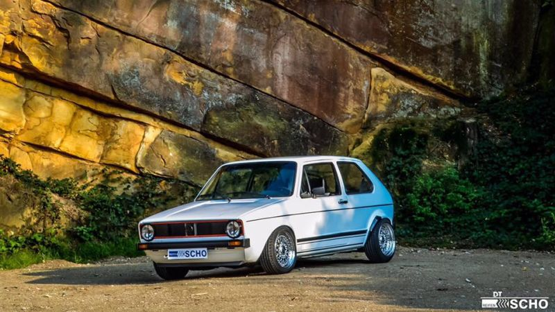 Tuning VW Golf 1 MK1 BBS KW (3)