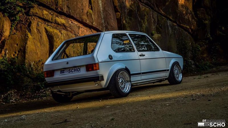 Tuning VW Golf 1 MK1 BBS KW (4)