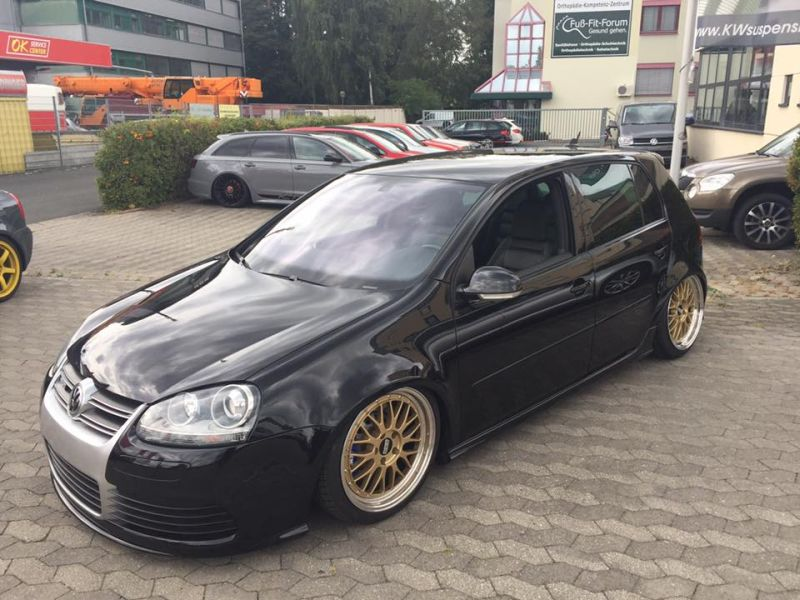 passgenau vw golf 5 r32 turbo auf 18 zoll bbs lemans alu s magazin. Black Bedroom Furniture Sets. Home Design Ideas