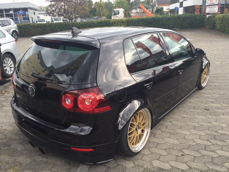 vw golf 5 r32 turbo 18 zoll bbs lemans tuning mk5 4. Black Bedroom Furniture Sets. Home Design Ideas