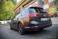 VW Golf MK7 Variant Satin Pearl Nero Tuning 4 190x127 Trendsetter   VW Golf MK7 Variant in Satin Pearl Nero by CMD