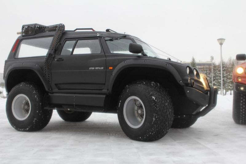 Viking 29031 tuning Vehicle Russland 1 Video: Nicht zu stoppen   Viking All Terrain Monster aus Russland