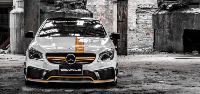 Wald Internationale Black Bison Bodykit Am Mercedes Cla