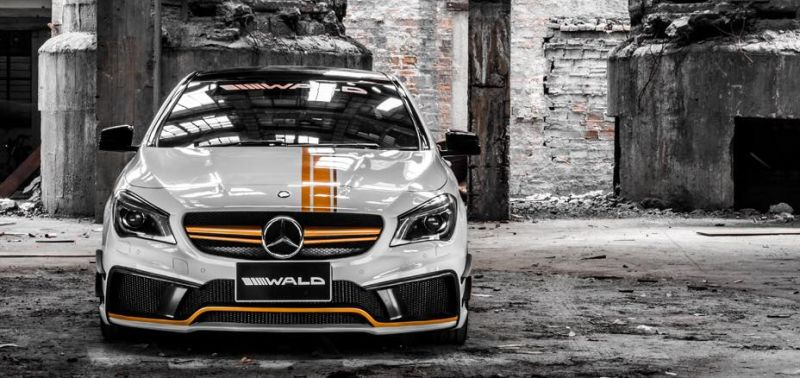 Wald Internationale Black Bison Bodykit Mercedes CLA C117 Tuning 1 Wald Internationale Black Bison Bodykit am Mercedes CLA