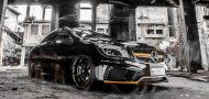 Wald Internationale Black Bison Bodykit Mercedes CLA C117 Tuning 3 190x90 Wald Internationale Black Bison Bodykit am Mercedes CLA