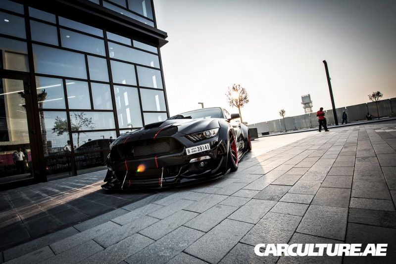 Widebody Ford Mustang GT AMP tuning (14)