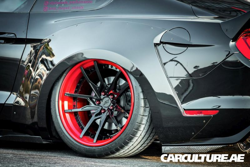 Widebody Ford Mustang GT AMP tuning (21)