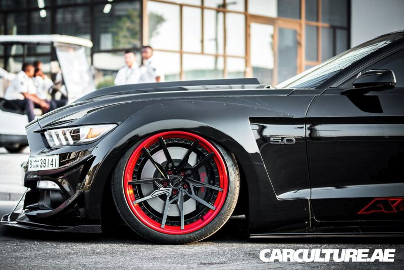 Widebody Ford Mustang GT AMP tuning (22)