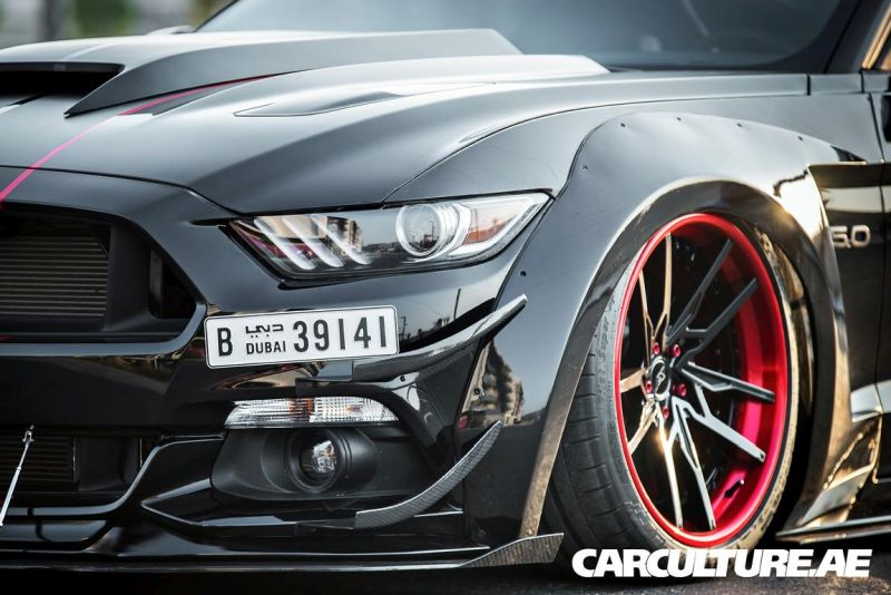 Widebody Ford Mustang GT AMP tuning (24)
