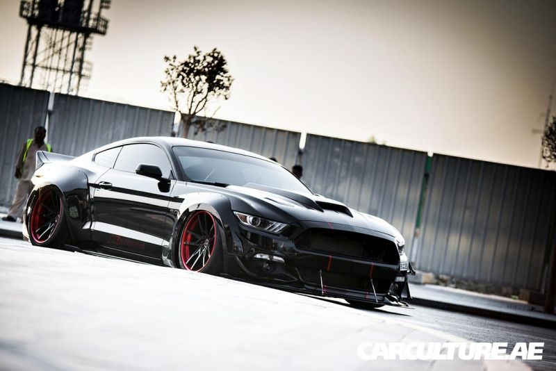 Widebody Ford Mustang GT AMP tuning (33)