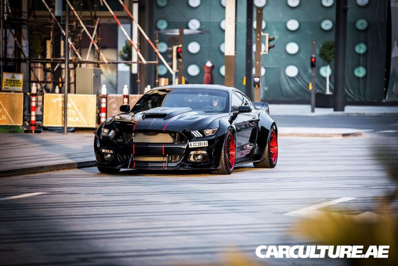 Widebody Ford Mustang GT AMP tuning (38)