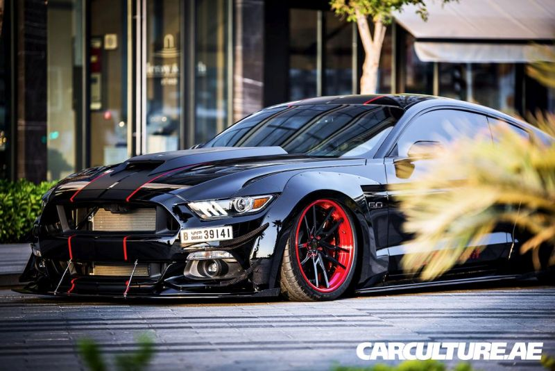 Widebody Ford Mustang GT AMP tuning (40)