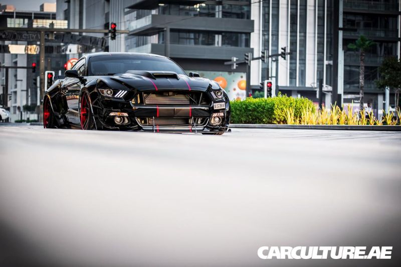 Widebody Ford Mustang GT AMP tuning (43)